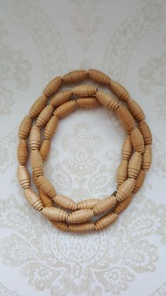 Finnish Vintage wooden necklace Made in the Wooden Necklace, Buy And Sell, Frame, How To Make, Handmade, Stuff To Buy, Vintage, Decor, Decorating