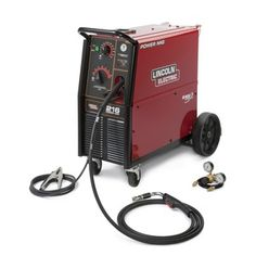 Top Features  The POWER MIG® 216 MIG welder is ideal for flux-cored welding in autobody and sheet   metal fabrication.    Diamond Core Technology™ – Delivers a Forgiving Arc   MAXTRAC®  Cast Aluminum Industrial Wire Drive   More Output and Better Efficiency   Coil Claw™ Cable Management system keeps your workstation organized Input  Power  208/230/1/60  220/1/50 Processes MIG,  Flux-Cored  Weight 250.00 lbs  FULL DETAILS BELOW