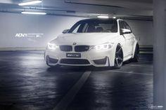 Alpine White BMW F80 M3 Equipped With ADV.1 Wheels - http://www.bmwblog.com/2015/01/06/alpine-white-bmw-f80-m3-equipped-adv-1-wheels/