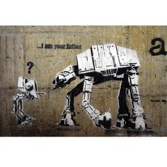"""I am your father"" // Banksy for sale (!?) @ $49"