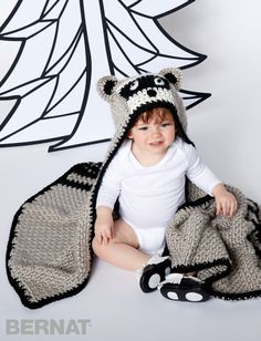 Lil' Bandit Blanket - Patterns | Yarnspirations