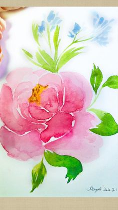 Malvorlagen How to draw watercolor peony flowers step by step simple tutorial Acrylic Painting acrylic painting Draw flowers Malvorlagen PEONY simple Step Tutorial Watercolor Realistic Flower Drawing, Cute Flower Drawing, Easy Flower Drawings, Beautiful Flower Drawings, Flower Art, Drawing Flowers, Paintings Of Flowers, Peony Drawing, Peony Flower