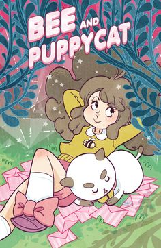 BEE AND PUPPYCAT #8 Retail Price: $3.99 Authors: Natasha Allegri, Garrett Jackson, & Various Artist: Natasha Allegri & Various Cover Artists: A. Hwei Lim 50% B. Mady Martin 50% C. Rebekka Dunlap - INCENTIVE It's Bee's birthday, and PuppyCat has decided that perhaps he can get his paws dirty and make a cake. But nothing goes as planned, and soon PuppyCat finds himself way in over his grumpy head in butter and flour! It's a high-rising adventure in this latest issue!