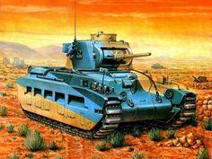 1941 Matilda II in North Africa