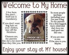 Larry's Bulldog Shop - My House Print (Featuring YOUR DOG