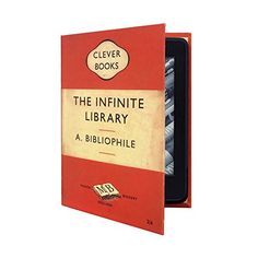 KleverCase Amazon Kindle Paperwhite Book Cover Style Case - The Infinite Library by A Bibliophile KleverCase http://www.amazon.com/dp/B004Q5SRA0/ref=cm_sw_r_pi_dp_u4NTvb1NNXVXE