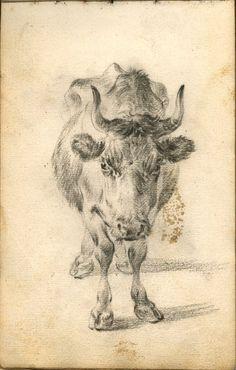 British Museum - Image gallery: sketch-book / drawing, by Nicolae Berchmen