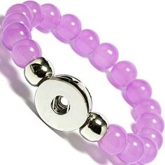 0.99$  Watch here - ZB472 Hot Sale Snap Bracelet&Bangles 10mm Glass Beads 18mm Snaps Holder High Quality DIY Snap Buttons Jewelry Single Snap   #buychinaproducts