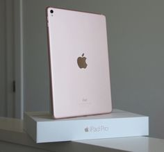"My rose gold iPad Pro 9.7"" ❤️it #TotalAddiction"