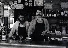 Robert Doisneau, Mélac, bistrot à vins, Paris Jacques Mélac (on the right). Robert Doisneau, Paris 11ème, Old Paris, Henri Cartier Bresson, Edward Weston, Old Photography, Street Photography, Vivian Maier, Magnum Photos
