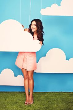 Shay Mitchell + Pretty Little Liars + Emily Fields
