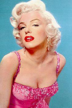 Marilyn Monroe in a publicity photo for Gentlemen Prefer Blondes (1953)