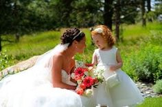 With the bride in the Fairy Garden