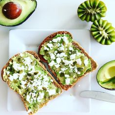 My obsession with avo and feta on toast continues... I wish this was my lunch today not that my left over pumpkin & ricotta lasagne with salad (my actual lunch) isn't good... Just really feel like this today! But at least I have a healthy, nourishing lunch today... Many don't!!! Fuelling for a run after work this afternoon happy Monday everyone #healthy #healthyliving #avocado #feta #avotoast #nourish #foodisfuel #goodforme #wellness #eatclean #eatgreen #fitness #activeliving #active