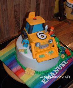 LEGO-Baustelle Torte LEGO Cake