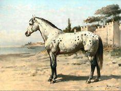 otto eerelman   Antique print,Turkish Horse, Otto Eerelman, 1898, N2008