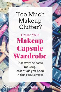 Discover what basic makeup essentials you need with this FREE email course full of great makeup tips You will learn to reduce makeup clutter, streamline your morning makeup routine and create your signature look. Bad Makeup, Hazel Eye Makeup, Eyebrow Makeup Tips, Smoky Eye Makeup, Best Makeup Tips, Makeup For Green Eyes, Eyeliner Makeup, Makeup Hacks, Eyebrow Pencil