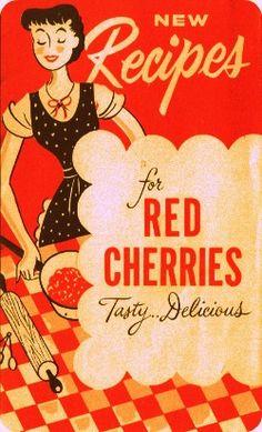 Vintage cherries.