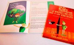 Libro de presentación de la temporada para las escuelas de barcelona.