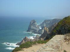 Somewhere along Portugal dramatic coastline.