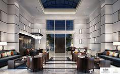 Moscow | Luxury Interior Design | Entrance Lobby #Entrance #Interiordesign