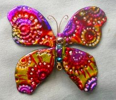 Colorful Friendly Plastic Butterfly