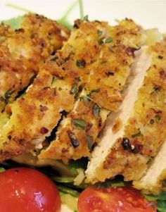 Crispy Lemon & Herb Chicken Recipe
