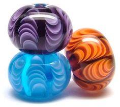 Tombodama. Japanese glass beads.