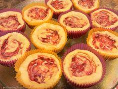 Mini Raspberry Lemonade Cheesecakes: Grain Free, Sugar Free, Gluten Free - Cut the Wheat, Ditch the Sugar