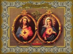The Sacred Heart of Jesus and the Immaculate Heart of Mary