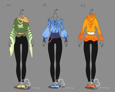 Some Outfit Adopts #9 - sold by Nahemii-san.deviantart.com on @deviantART