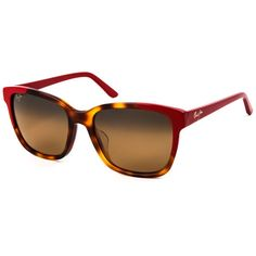 911e5e60c3 Maui Jim Moonbow Polarized HS726-66 Sunglasses (€245) ❤ liked on Polyvore  featuring accessories