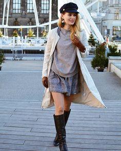 Trench-Coat and Cap 🖤 my last look on the blog. #lookbook #ootd #outfit #winter #winterfashion #fashion #style #classy #me #simple #neutralcolors #december #kaszkiet #trench #trenchcoat #fashionmagazine #coat #nude #poznan #poland #polonia #blond #streetfashion #streetwear #blog #follow #polishwoman #polskadziewczyna