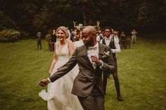 this is how you should be feeling on your wedding day, we think 🕺🏿 photo by Mark Pacura