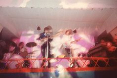 Pink Floyd performing at the UFO Club, London, December 1966.