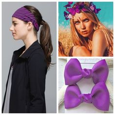 Ultra Violet Hair Accessories