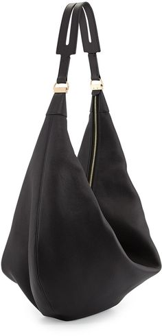 Cervo Large Metallic Hobo Bag, Bronze by Bottega Veneta at ...