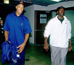 Scottie Pippen and Michael Jordan - 1997