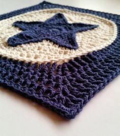 Star light star bright blanket pattern by Shelley Husband ✿⊱╮Teresa Restegui http://www.pinterest.com/teretegui/✿⊱╮