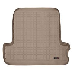 WeatherTech 41047 Series Tan Digital Fit Cargo Liner - Cargo Liners WeatherTech(R) Cargo Liners provide complete trunk and cargo area protection. Our Cargo Liners are digitally designed to fit your vehicle and feature a raised lip to keep spills, dirt and grease off your vehicle's interior, protecting your investment from normal wear and tear. Made from a proprietary custom blended TPE that is not only wear resistant, but also remains flexible under temperature extremes. WeatherTech(R) Cargo…