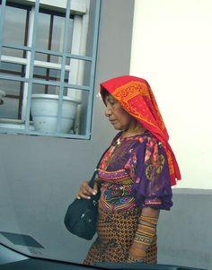 Central America: Cuna Indian woman, Panama