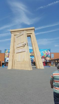 Big gate at plopsaland