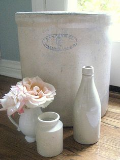 Gorgeous crock and pottery