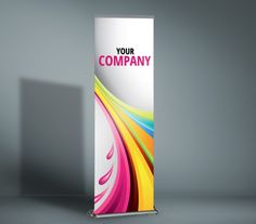 Angie Banner Stand - This stand is durable, portable, and quick to set-up. We offer a large selection of sizes in this all-around stand. This banner stand is a great choice when you'll need more than one.