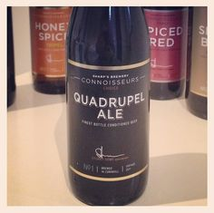 Sharp's Connoisseurs choice No.1 - quadrupel ale - deep bittersweet fruitiness with warm finish - 10% ABV