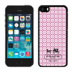 Coach In Confetti Signature Pink iPhone 5C Cases DRI