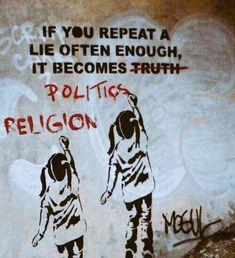RT @_bright_jr: If u repeat a lie often enough it becomes political religion #nigeria #godblessnigeria https://t.co/abzC0nqfst