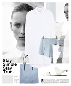 """B A S I C 1"" by laste-co ❤ liked on Polyvore featuring COS, Pieces, Monki, Balenciaga, Pierre Hardy and Billini"