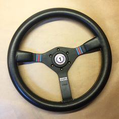 Momo steering wheel with customized decals. www.car-bone.pl