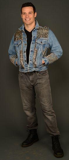 98 Model Jaket Levis Punk HD Terbaru
